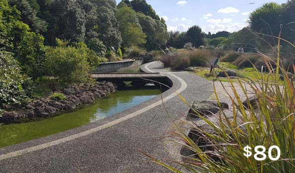 auckland walking tours botanic gardens